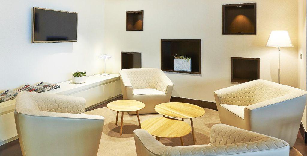 La elegancia y la modernidad se reflejan en todos los rincones del hotel