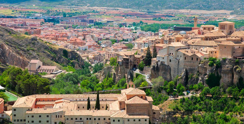 Hoteles en Cuenca, hoteles de lujo 4 y 5 estrellas a precio barato con Voyage Privé