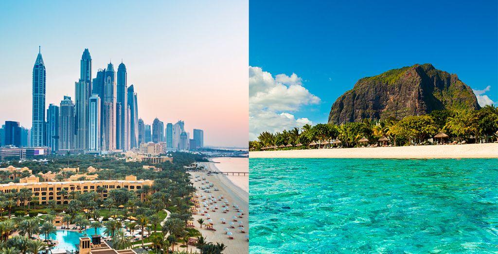 Una espectacular experiencia te espera en Dubái e isla Mauricio