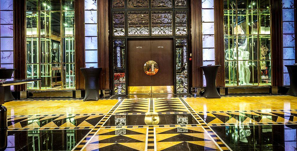 Interiores que evocan al lujo más moderno