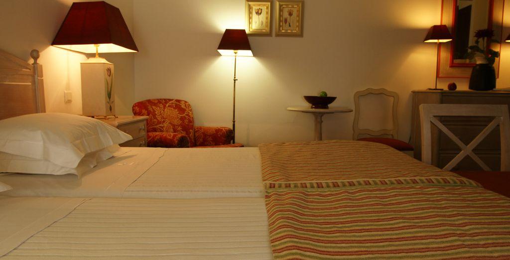 Sientase cómodo y relajado en esta acojedora habitación