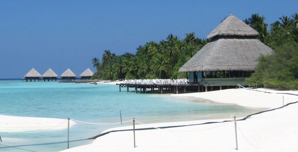 Pasee por sus playas de agua cristalina