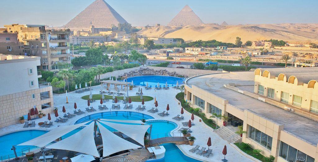 Su estancia en El Cairo será en el hotel Meridien Pyramids 5*