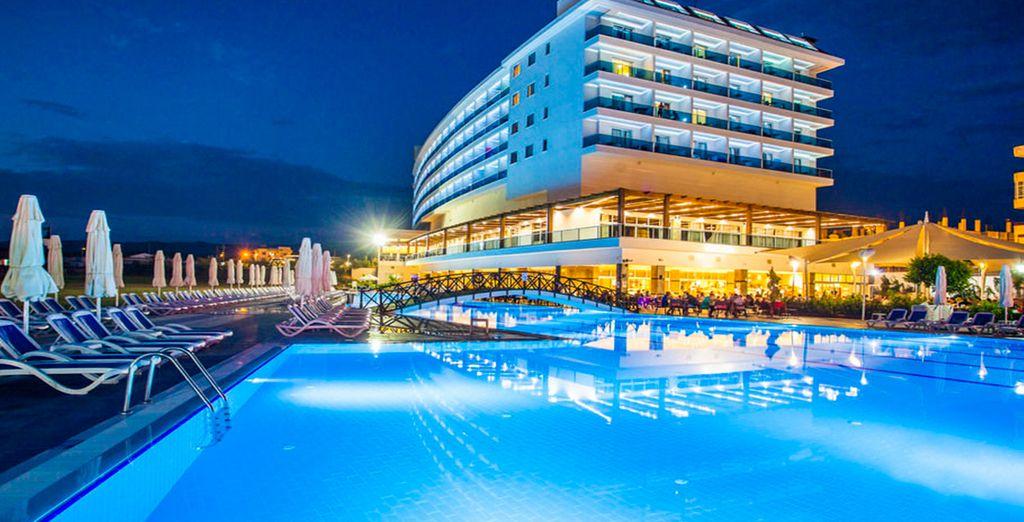 Disfrute de un hotel de lujo en un entorno privilegiado