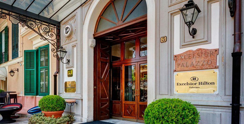 Bienvenido al Hotel Excelsior Hilton Palermo