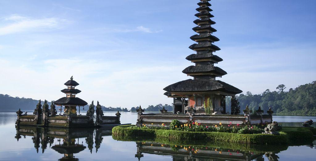 Conoce el Templo Pura Ulun Danu en Bedugul