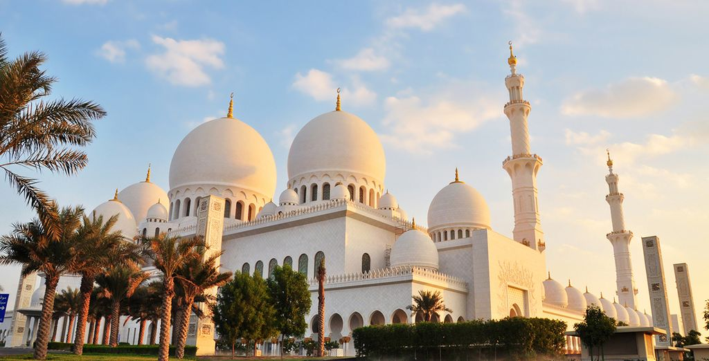 Fabulosasa mezquitas de Abu Dhabi