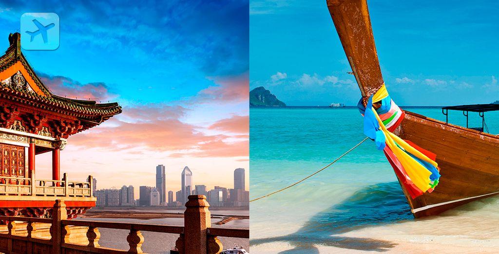La imperial China y el paradisíaco Phuket