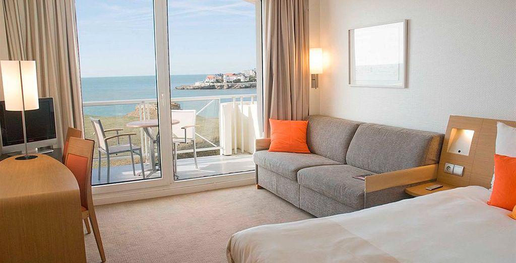 Te presentamos tu cómoda y acogedora habitación estándar