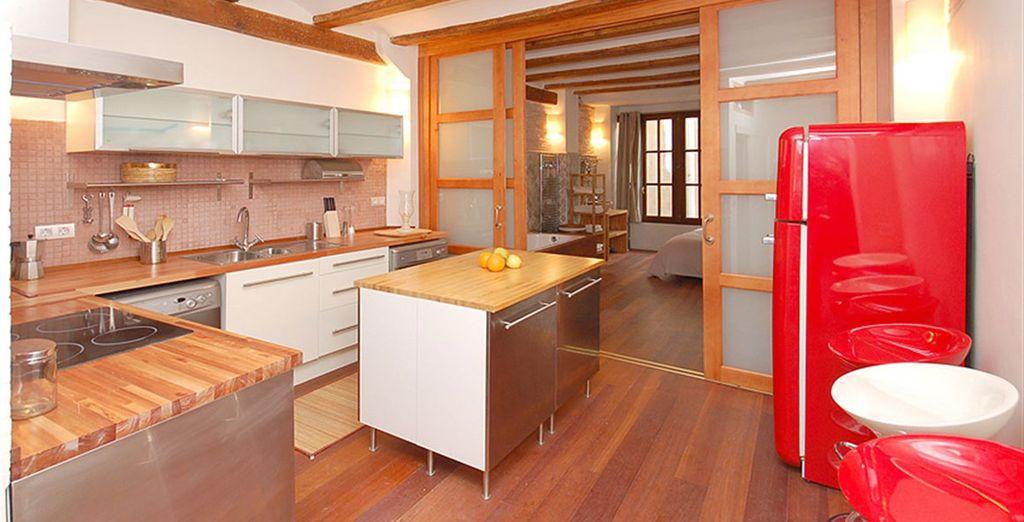Apartamento 1: COn cocina totalmente equipada