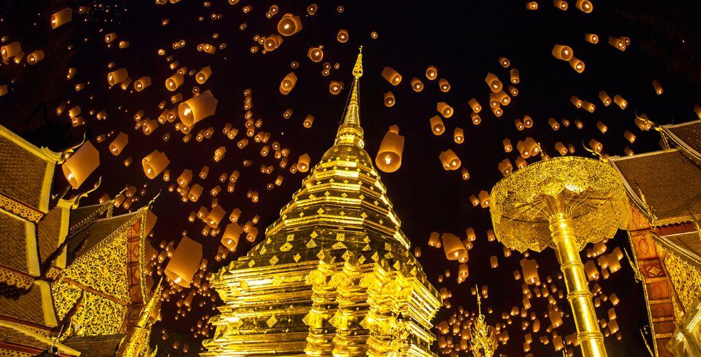 Venga a disfrutar de la tradicional fiesta de Loy Krathong el 7 de Noviembre en Phuket