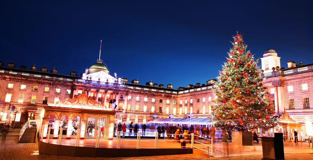 Admire el árbol de Navidad de Trafalgar Square