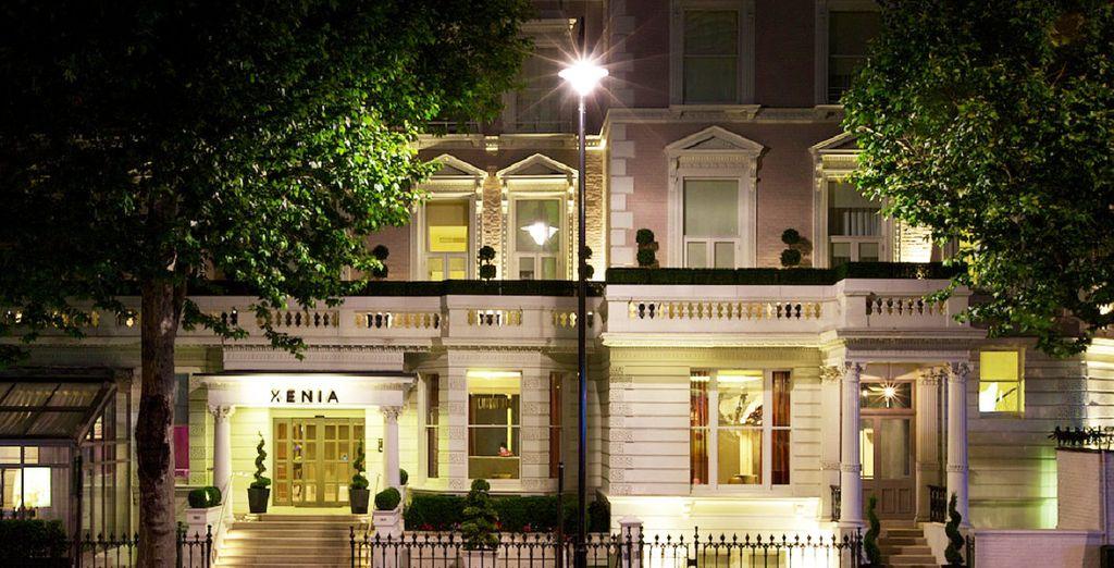 Hotel boutique con recepción 24 horas a su disposición