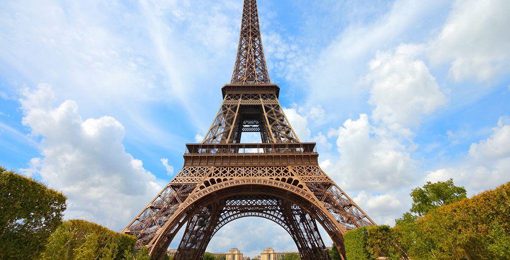 Conozca la famosa Tour Eiffel