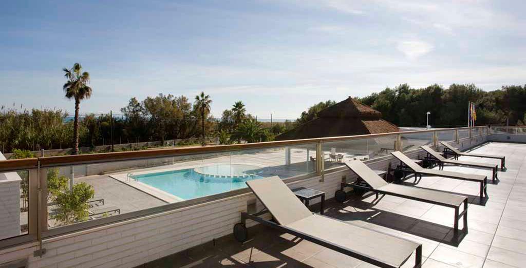 Relájese en uno de los mejores Hoteles de costa de Valencia