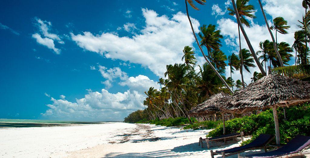 Las exhuberantes playas de Zanzíbar