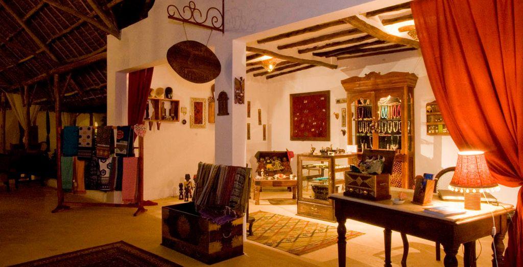 Interiores decorados con motivos locales