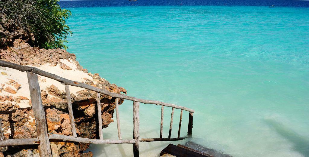 ... y el color del mar turquesa le dejará prendado