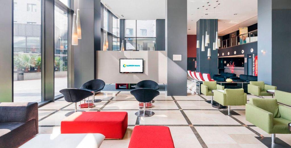 Con espacios modernos y confortables