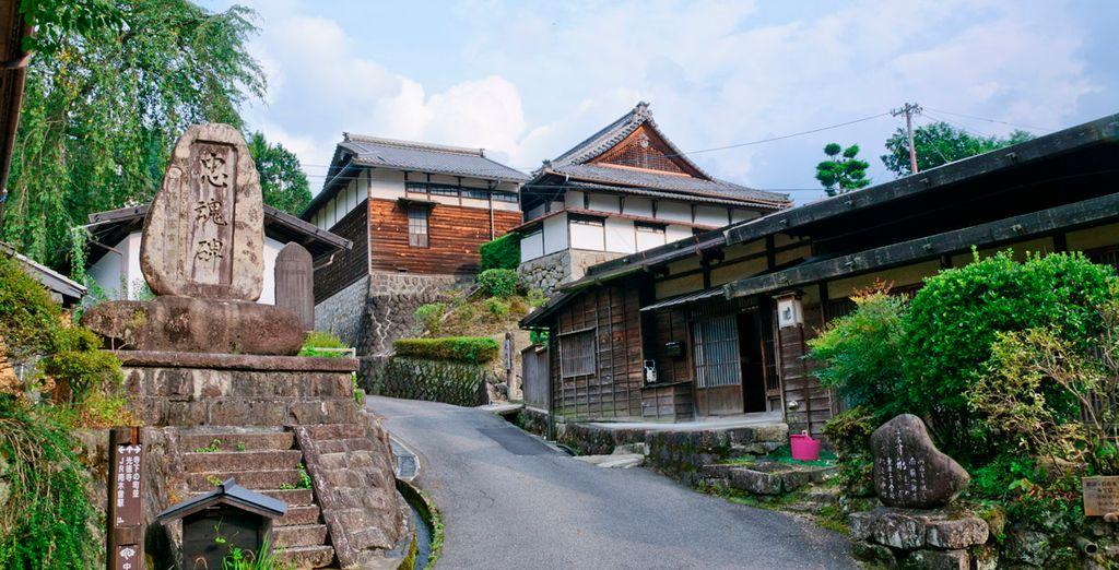 Tsumago, el pueblo de los Samurais