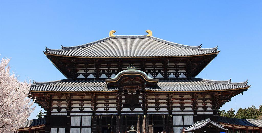 El templo Todaji en Nara
