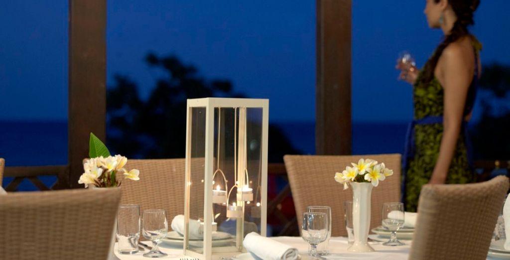 Veladas románticas con sabores griegos