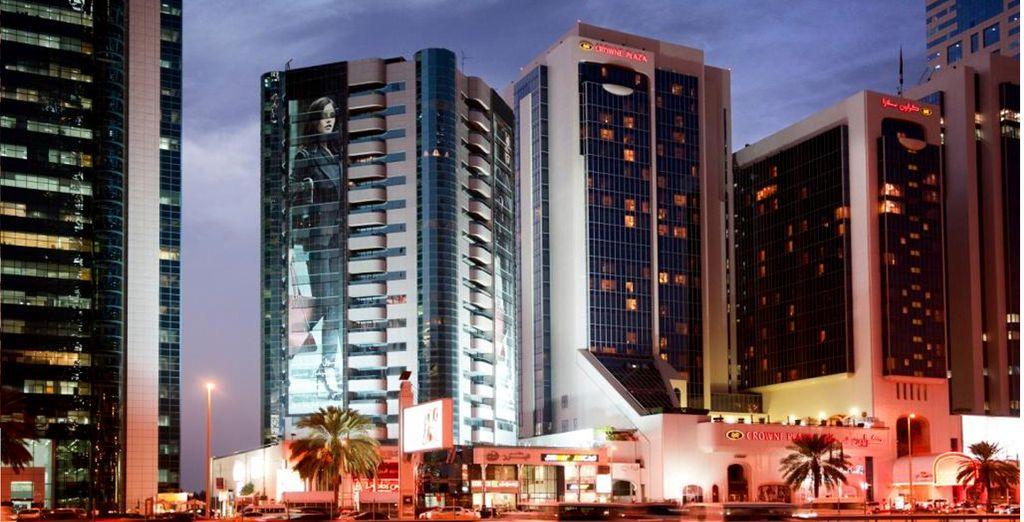 Panorámica del hotel