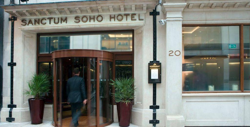 Un hotel moderno en el corazón de Londres
