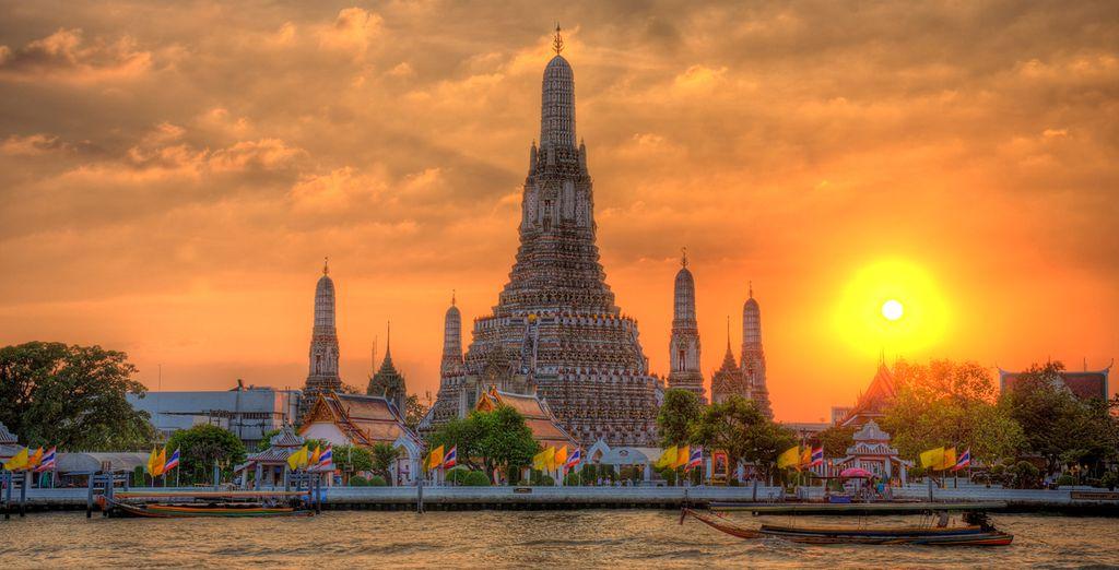 Bangkok, guía de viajes, Templo Wat Arun