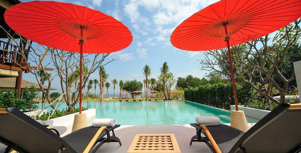 Bienvenido al paraíso de Hua Hin