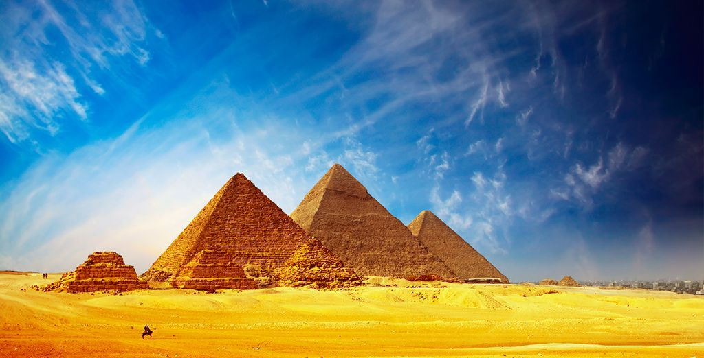 Las majestuosas pirámides