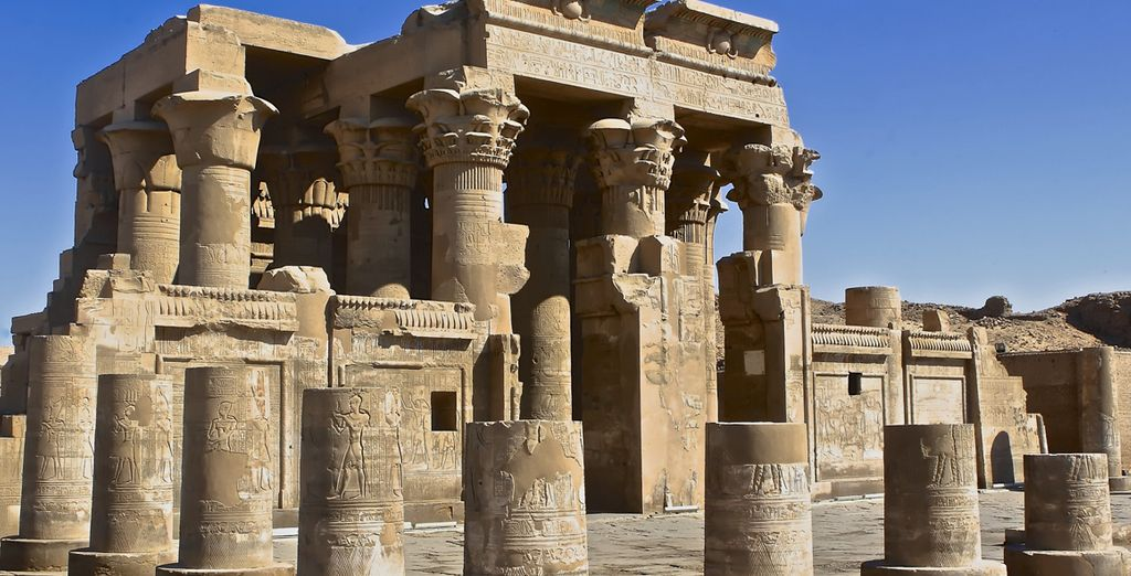 Los templos de los Dioses Sobek y Haroeris