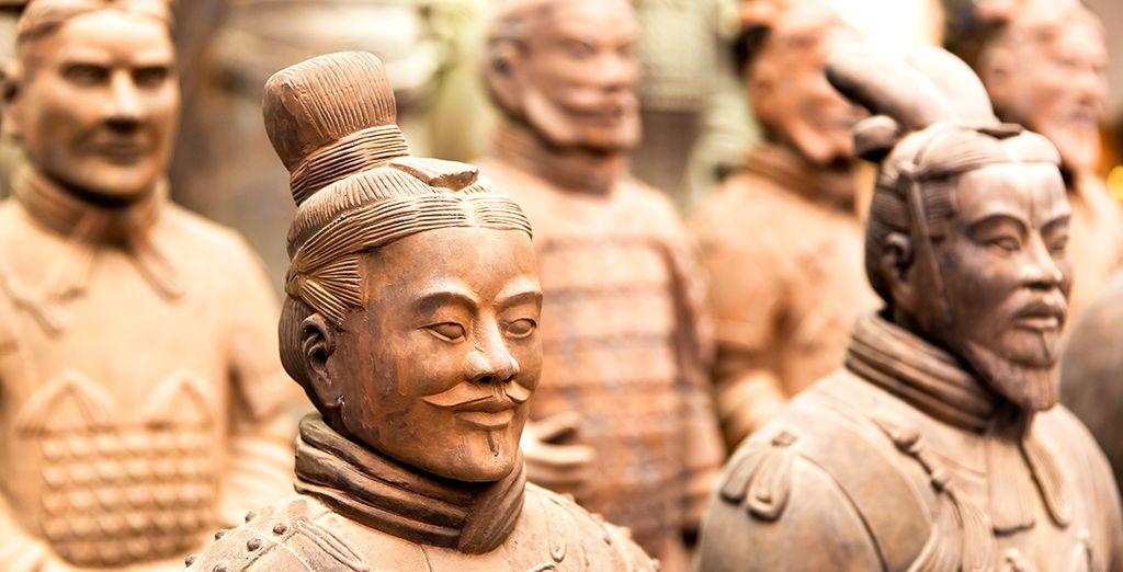 Guerreros de Terracota en Xi'an