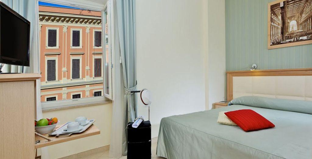 Habitaciones completamente renovadas, luminosas y confortables