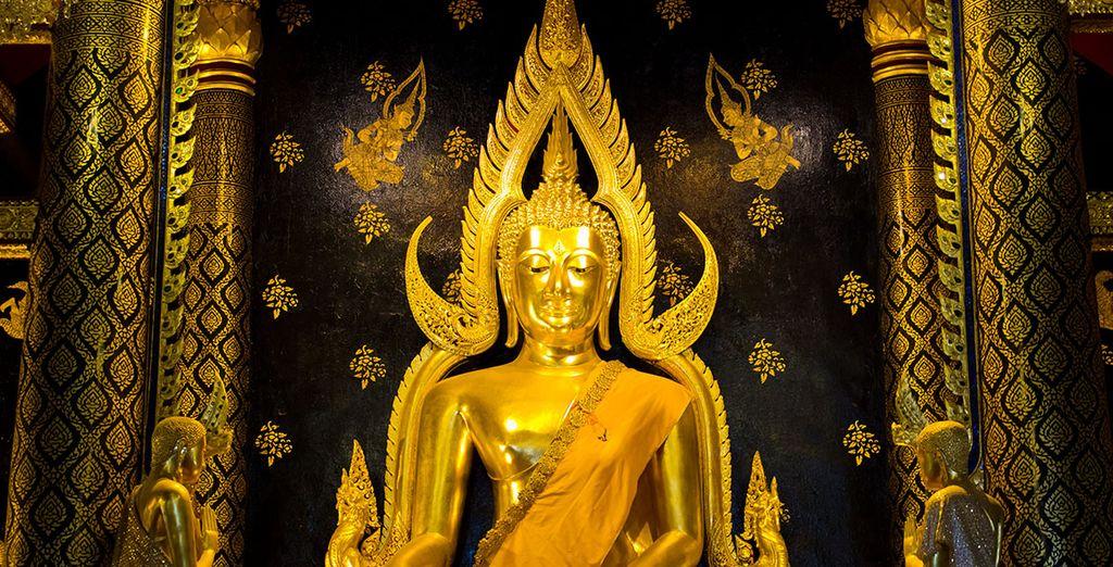 Phitsanulok, uno de los mayores centros de peregrinación del país