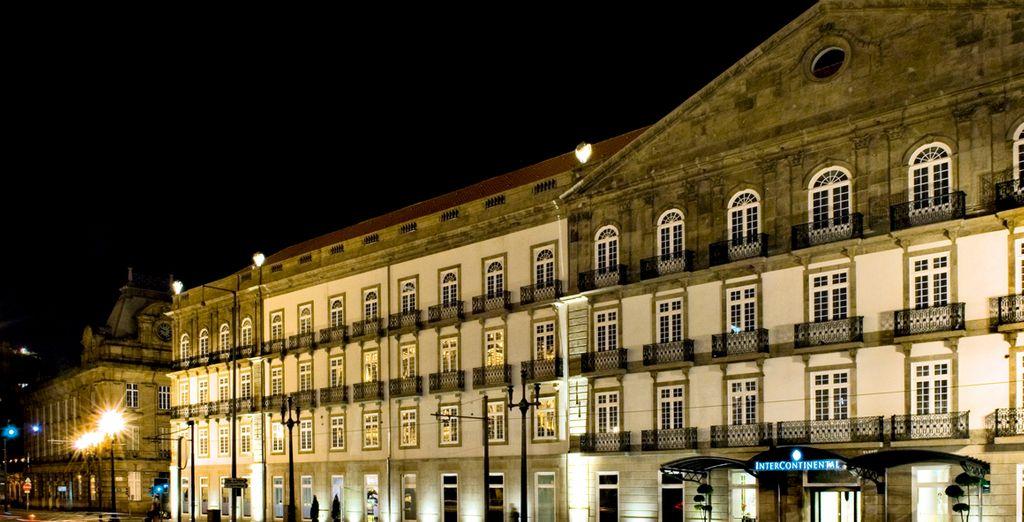 Un palacio del siglo XVIII