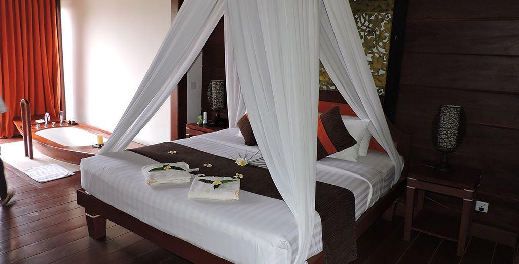 Habitación Floating Duplex en Pristine Lotus Resort 4*, en Inle