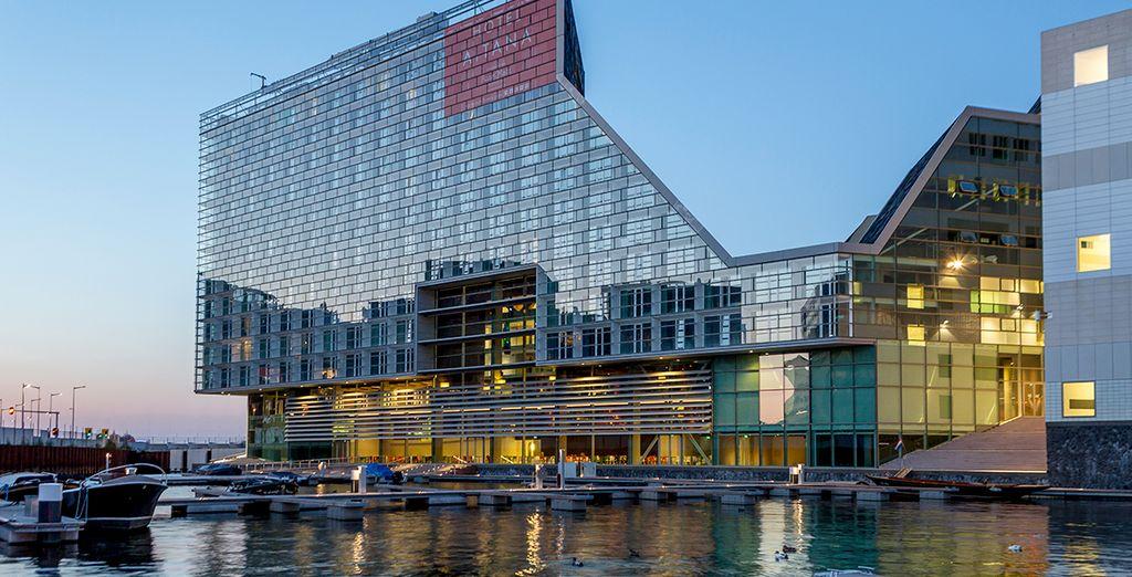 El Room Mate Aitana es un hotel de diseño construido en 2013