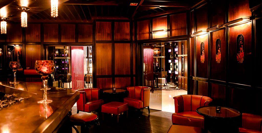 El lounge bar Oskars le espera con unos cócteles deliciosos