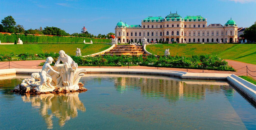 Venga a visitar el Palacio Belvedere