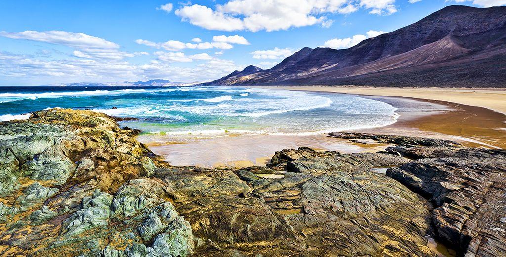 Las playas de Fuerteventura son pura belleza
