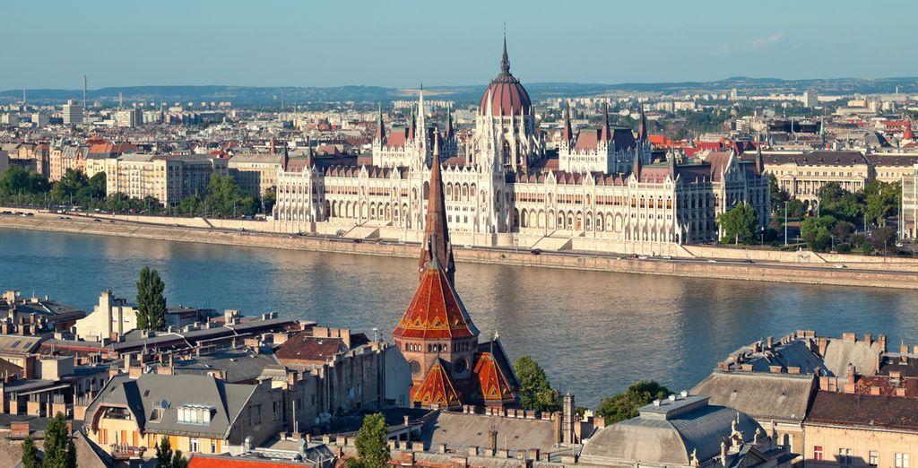 Visite el Castillo de Buda y el Parlamento de Budapest