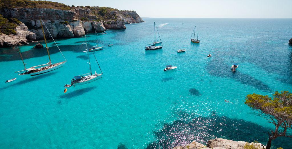 vuelo más hotel en Menorca con Voyage Privé