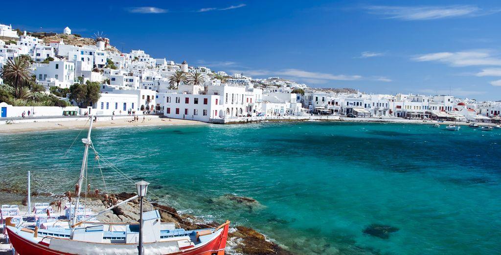 Ofertas de cruceros por las islas griegas
