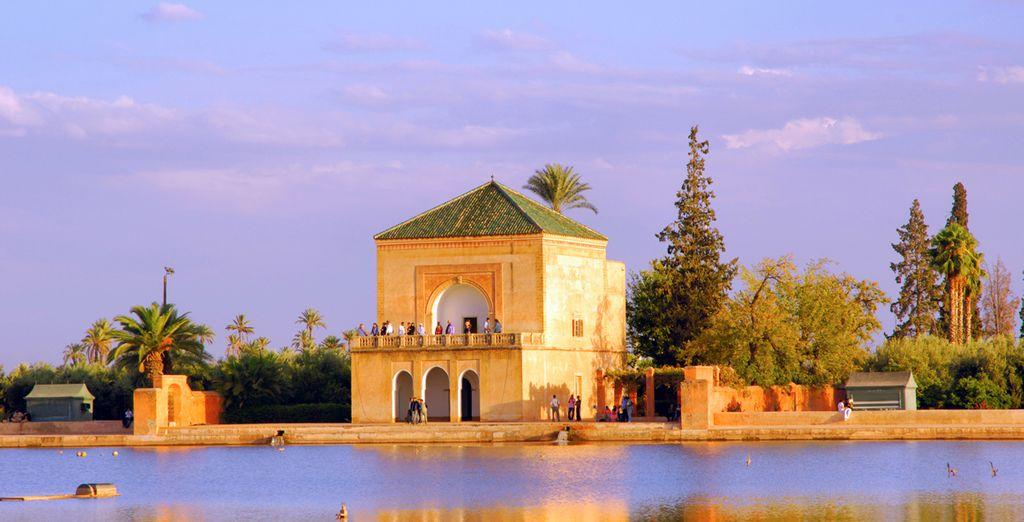 Jardines de Menara, Marrakech