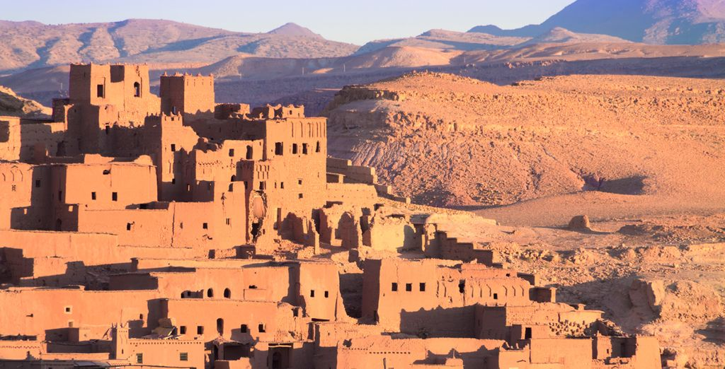 La Kasbah de Ait-Ben-Haddou, nombrada por la UNESCO Patrimonio de la Humanidad