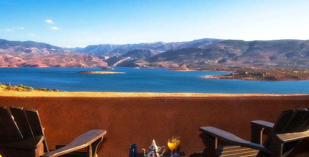 Vistas espectaculares al lago