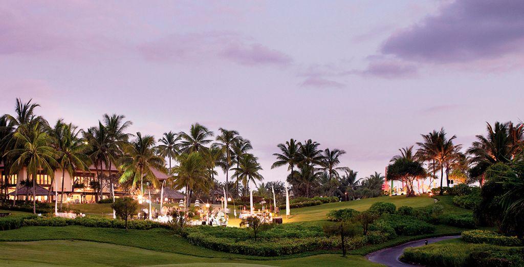 El Hotel Pan Pacific Nirwana rodeado de vegetación y zonas verdes será su segundo destino