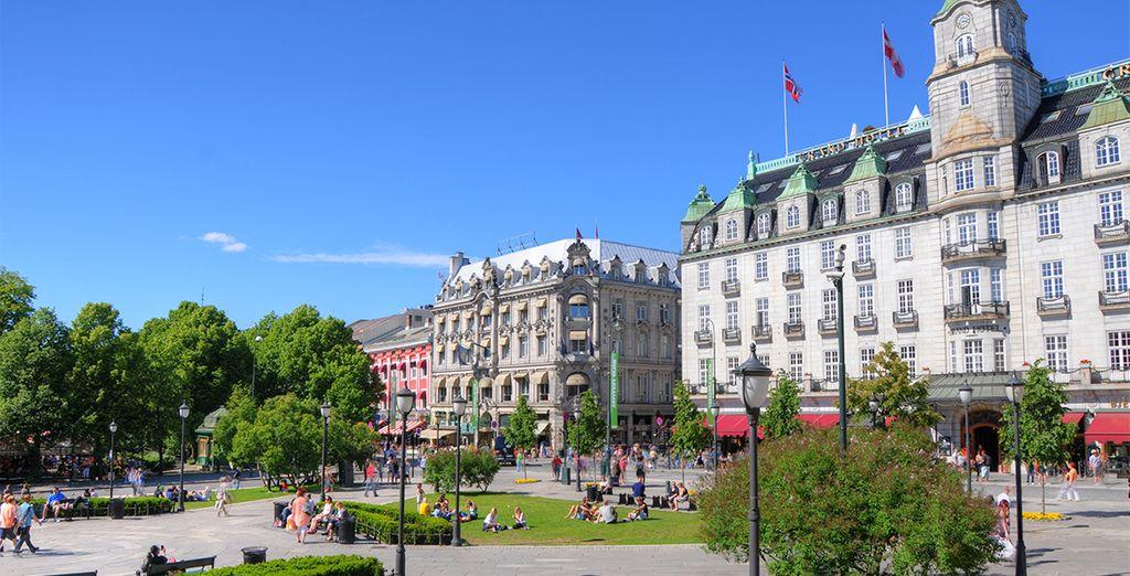 Se la considera una de las ciudades más bellas de Europa