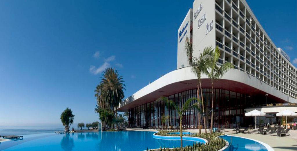 Un imponente hotel
